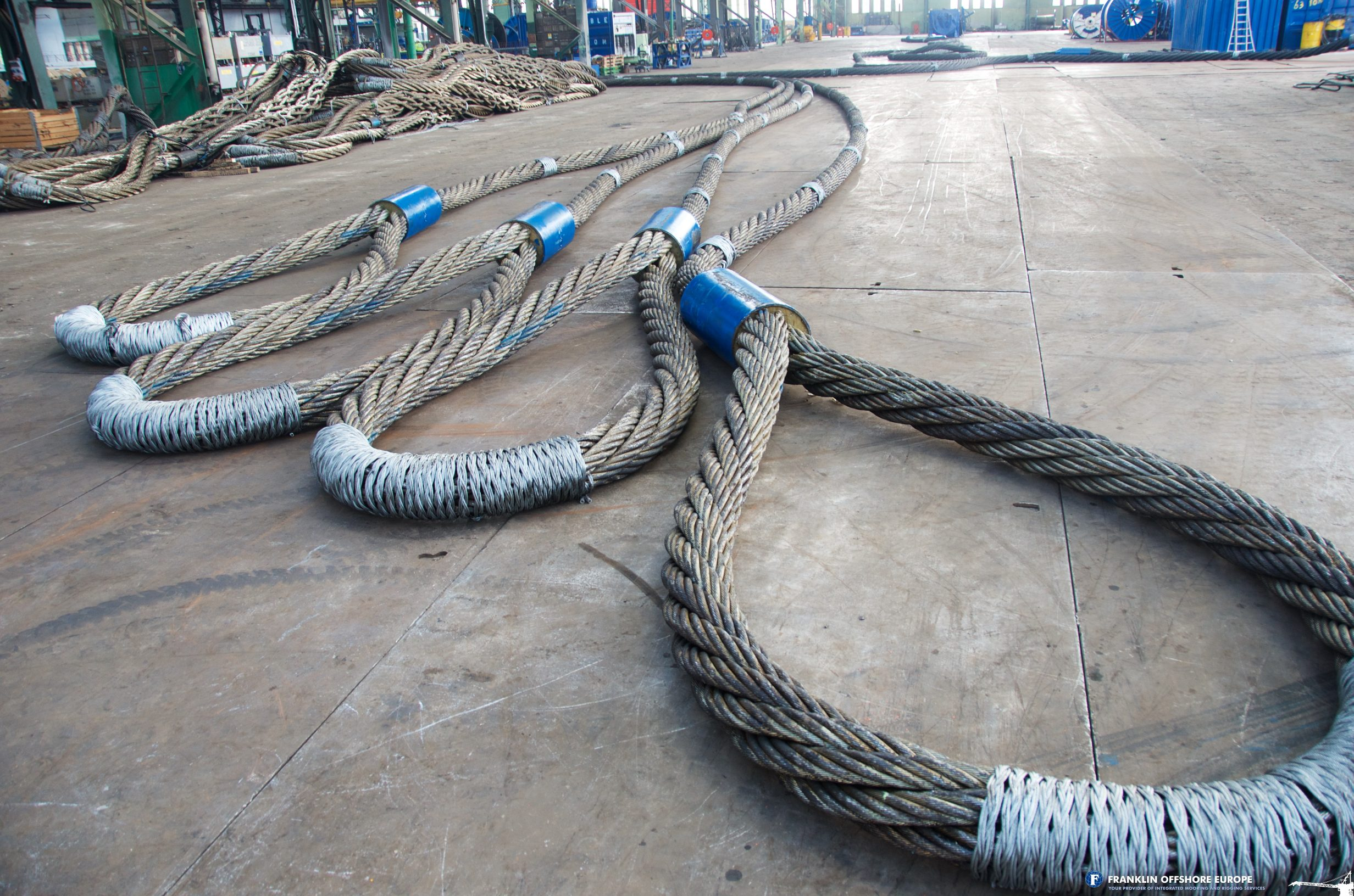 Heavy Lifting Slings - Franklin Offshore Europe